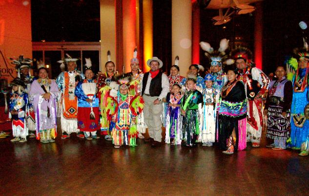 natives at Lottery COnvention